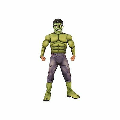 Avengers 2: Age of Ultron Deluxe Hulk Child Costume With Muscle Chest