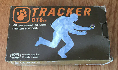 BCA DTS Tracker w/ carry case, manual and batteries (never used)