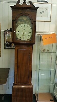 Magnificent Scottish Eight Day Long Case Clock serviced in perfect working order