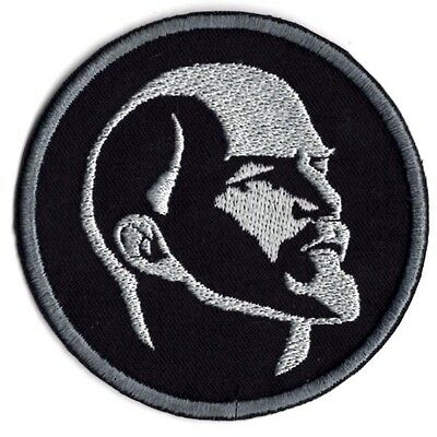 Russian Visonary Lenin Communist  Bust  Applique Patch  Iron/Sew on Patch