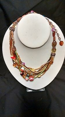 Ten Fantastic Necklaces and Hanging Earring Sets Wholesale Lot