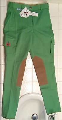 NWT Highline Breeches 26L Green