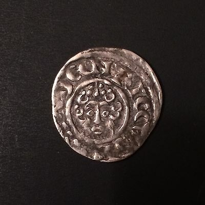 Henry III Silver Hammered Penny Short Cross Canterbury