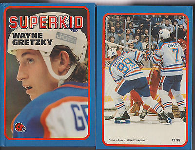 Wayne Gretzky Superkid Hardcover Book 1983 First Edition By Ted Ferguson