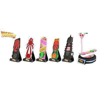 NEW Back to the Future II - 1/6 Magnetic Floating Hover Board Set of 5