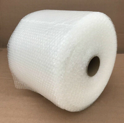 """Bubble 3/16""""x 12"""" Wide Small Mailing  50"""" bubble + Wrap Roll."""