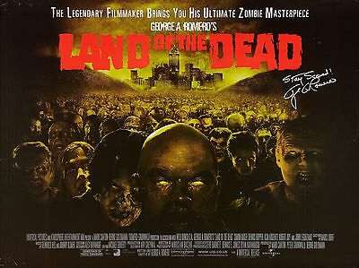 """Land of the Dead 2005 16"""" x 12"""" Reproduction Movie Poster Photograph"""