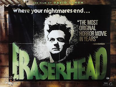 """Eraserhead 16"""" x 12"""" Reproduction Movie Poster Photograph"""