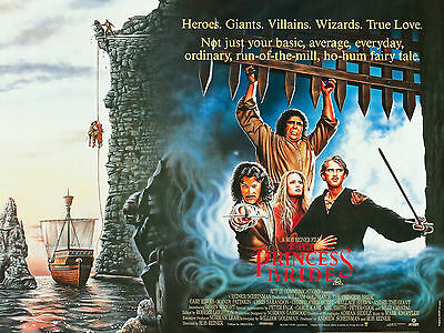 """The Princess Bride 1987 16"""" x 12"""" Reproduction Movie Poster Photograph"""