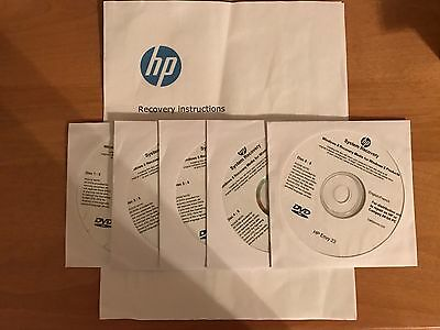 HP Envy 23-o014 - system repair (factory recovery)