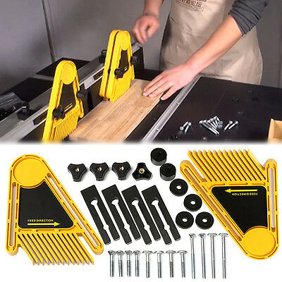 One Pair Of Multi-purpose FeatherBoards for Router Tables Table Saws and Fences