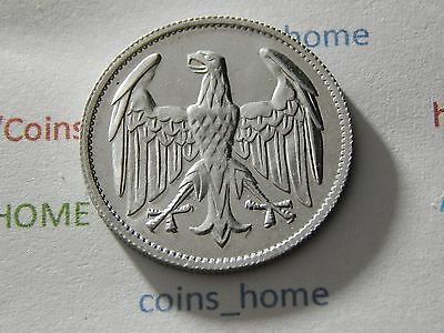 Coins Home Uncirculated 1922A 3 Mark Germany Weimar Lot#V214 Uncerified Ungraded