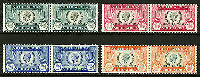 South Africa  1935  Scott # 68-71  Mint Hinged Set