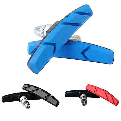 1 Pair Mountain Road Bicycle V Brake Holder Shoes Rubber Pads Blocks Deft