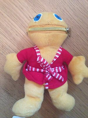 Rainbow Zippy Wearing Red Robe soft / plush toy By Whitehouse Leisure