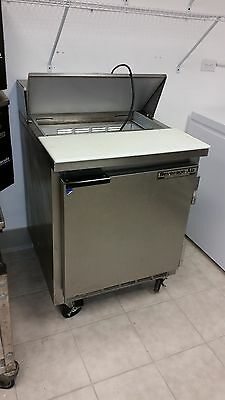sandwich refrigerated prep table