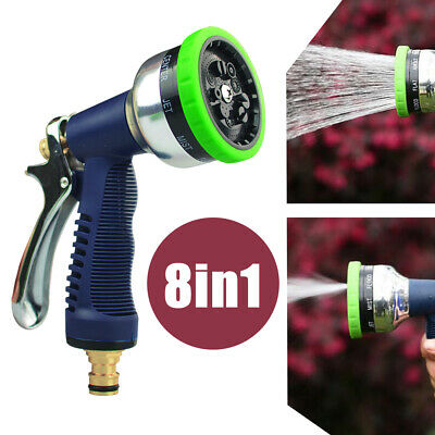 15M/50Ft Pocket Water Pipe Anti Kink Expandable Garden Hose 7in1 Spray Nozzle