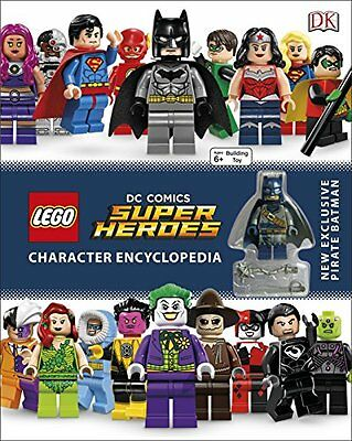 LEGO DC Super Heroes Character Encyclopedia New Hardcover Book DK