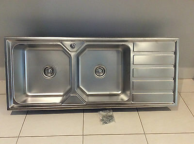 Brand New Stainless Steel Double Bowl Kitchen Sink