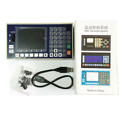 TC55H 4 axis CNC controller USB Stick G code Spindle Control MPG