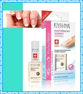 EVELINE Cosmetics Nail Therapy Professional Maximum Nail Growth Quickener 12 ml