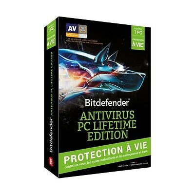 Bitdefender Antivirus PC Lifetime Edition - Protection a vie - 1 PC