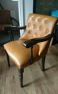captains chair Chesterfield style great condition.  (more available)
