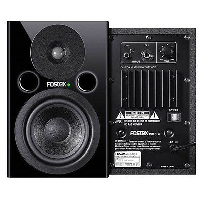 Fostex Pmo.4 Active Nearfield Studio Monitors - Pair Black