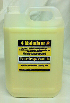 4 Malodour EXTREMELY powerful pet dog & cat odour remover. Kennel deodoriser