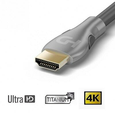 HDELITE Câble HDMI 2.0 Ultra HD 4K / 3D 1m