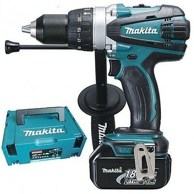 MAKITA Perceuse visseuse a percussion 2x18V 3Ah Li