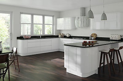 Gemini White Gloss Door Replacement Kitchen Cabinet Doors Drawer Unit Fronts