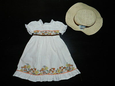 American Girl Julie's Birthday Hat & Dress Outfit Set Doll clothes