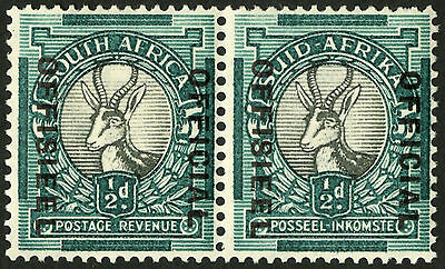 South Africa  1935-50  Scott # O 22  Mint Never Hinged