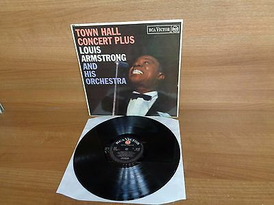 Louis Armstrong : Town Hall Concert Plus : Vinyl Album : RCA Victor : RD-7659