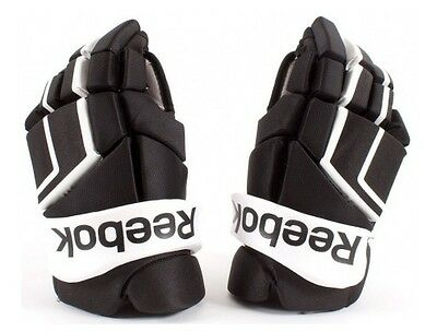 "Reebok HG 24K - 14"" Gloves Black-White - Senior"