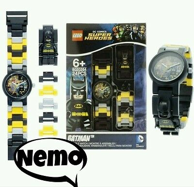 LEGO SUPER HEROES DC COMICS buildable watch/orologio da costruire(Batman)
