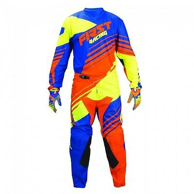 "First Racing Motocross Offroad Race Kit 34"" Jeans Large Shirt Ktm Sx Sxf Tc Fc"