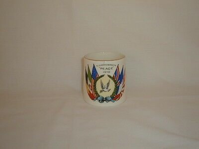Wwi 1919 Anchor China Mug Commemorating Peace 1914-1918 War