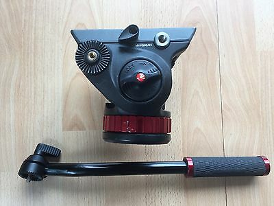 Manfrotto MVH502AH with plate Pro Fluid Video Camera Head DSLR Canon Nikon
