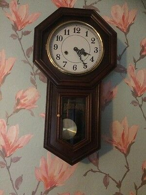 School House Antique Regulator Clock