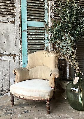 Pretty, Vintage French Chair - Ideal Upholstery Project