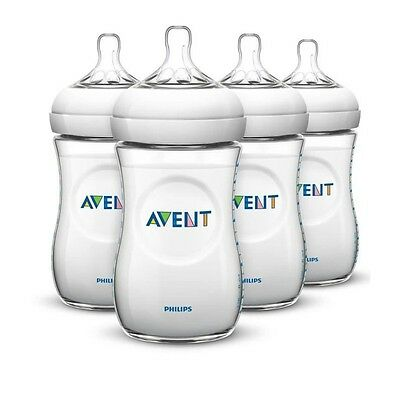 PHILIPS AVENT Biberon Natural alvéolé 260ml x4  SCF693/47