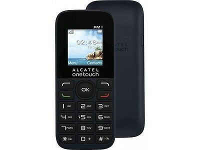 BRAND NEW ALCATEL One Touch 10.16 CHEAP BASIC MOBILE PHONE SIM FREE UNLOCKED