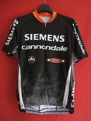 Maillot cycliste Siemens Cannondale Cycling Maxxis Vintage jersey - 4 / L