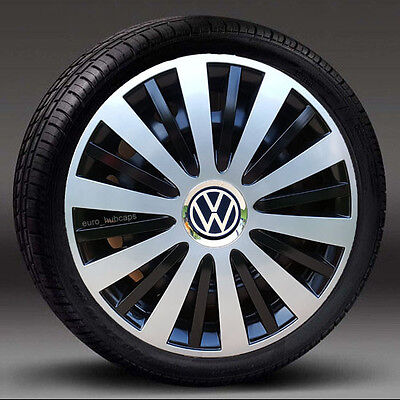 """NEW 14"""" wheel trims/Hub Caps/Covers to fit Vw Polo/Lupo ( Set of 4 )"""