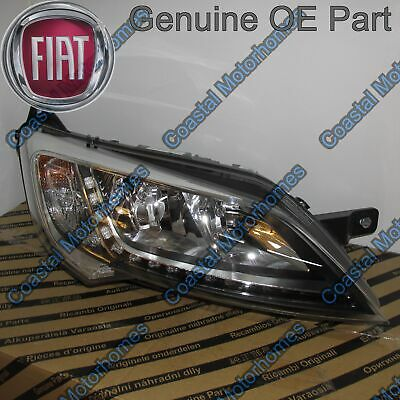 Fiat Ducato Peugeot Boxer Citroen Relay Right Headlight Silver With DRL 14on