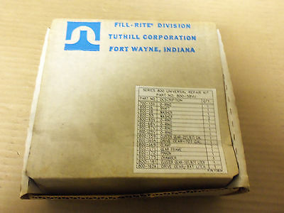 New Tuthill Corporation Fill Rite 800 Series Universal Repair Kit 800-58Vu
