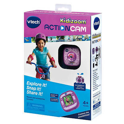 VTech Kidizoom Action Cam - Purple New in Box