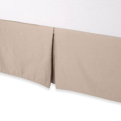 """Palais Royale Bed Skirt 15"""" or 18"""" Hotel Collection Split Corners"""